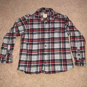 Men's thick flannel shirt